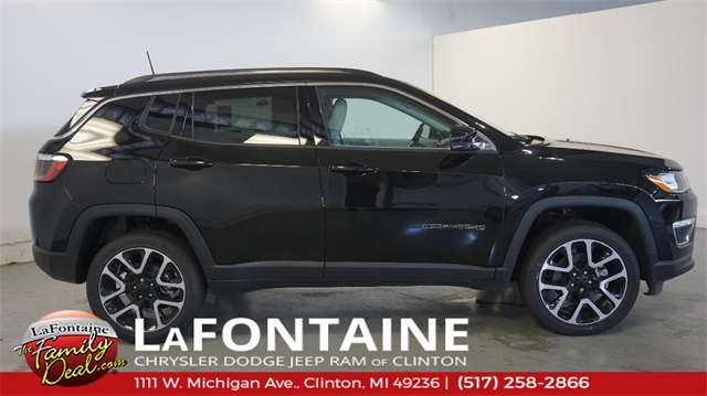 New 2018 Jeep Compass Limited Sport Utility In Clinton 18n266